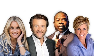 Real Estate Wealth Expo: Real Estate Wealth Expo with Suze Orman, Shark Tank's Robert Herjavec, and Les Brown on Saturday, May 7, at 8 a.m.