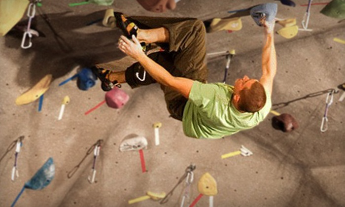 Triangle Rock Club - Morrisville: Intro to Climbing Class and Two-Week Pass for One or Two at Triangle Rock Club in Morrisville