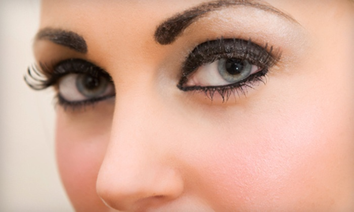 Indulgences - Downtown: Permanent Eyebrow or Eyeliner Makeup Application or Both at Indulgences (Up to 51% Off)