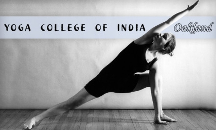 Bikram Yoga College of India - Grand Lake: $25 for a 10-Class Punch Card at Yoga College of India in Oakland
