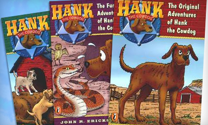 Maverick Books: $15 for $30 Worth of Hank the Cowdog Audio Books from Maverick Books