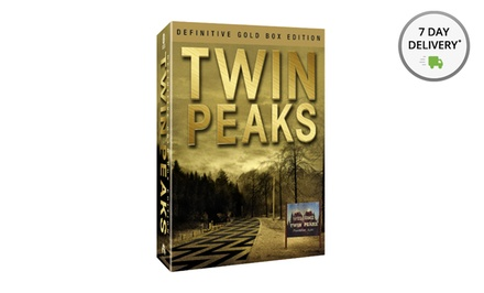 Twin Peaks: The Complete Series Definitive Gold Edition DVD Box Set. Free Returns.