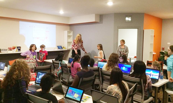 codeteachers - Multiple Locations: $125 for $250 Worth of One Month Unlimited - Kids Coding Design and STEAM Classes