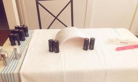 1 sesión de manicura y/o pedicura normal o semipermanente en Maria Luisa Estética Natural y Terapias