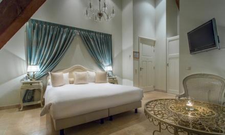 Groningen: luxe tweepersoonskamer met privéjacuzzi incl. ontbijt en naar keuze diner op 4* Landgoed Westerlee voor twee