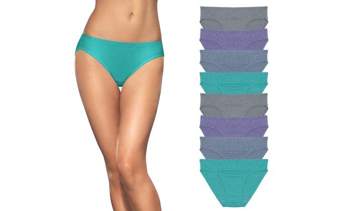 2328da62effd Fruit of the Loom Dream Flex Women's Bikinis (8-Pack) | Groupon