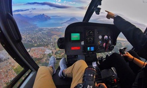 Cape Town Helicopters: Helicopter Flight with HD Photos and Video from R1 799 for Two with Cape Town Helicopters (51% Off)