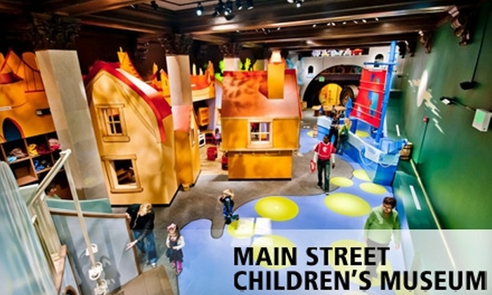 Main Street Children's Museum - Downtown Rock Hill: $10 for Four Tickets to the Main Street Children's Museum in Rock Hill ($20 Value)