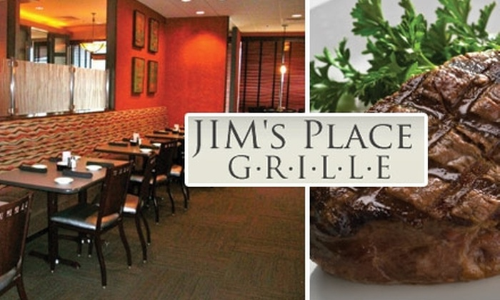 Jim's Place Grille - Collierville: $10 for $20 of Delicious Fare and Drinks at Jim's Place Grille