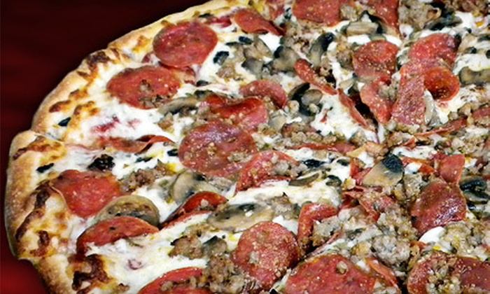 Krony's Pizza West - Sunrise Park: $8 for $16 Worth of Italian Fare and Drinks at Krony's Pizza West in Palm Springs