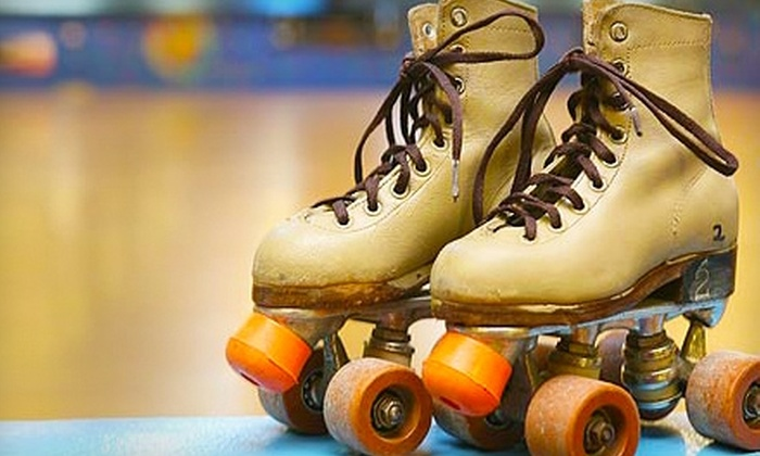 Roller Kingdom - Reno: $12 for Admission and Skate Rental for Two, Two Slices of Pizza, and Two Drinks at Roller Kingdom (Up to $25 Value)