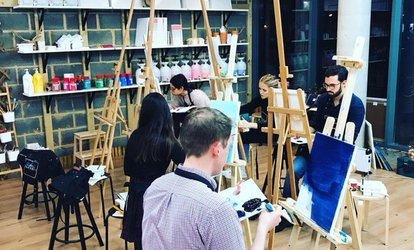 Painting Experience on Special Objects for One or Two at Liberté Concept (Up to 43% Off)