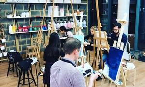 Liberté Concept: Painting Experience on Special Objects for One or Two at Liberté Concept (Up to 43% Off)