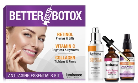 ThreePiece AntiAging Essential Skincare Kit: One $49 or Two $79 Don't Pay Up to $279.98