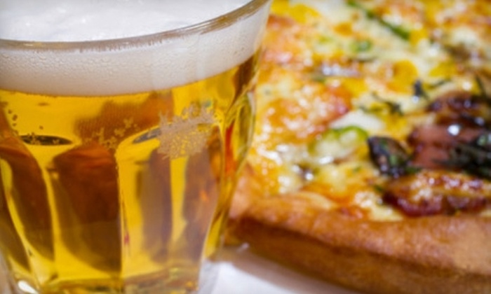 Jolly Ollie's Pizza and Pub - Hendersonville: $10 for $20 Worth of Pizza, Grinders, and More at Jolly Ollie's Pizza and Pub in Hendersonville