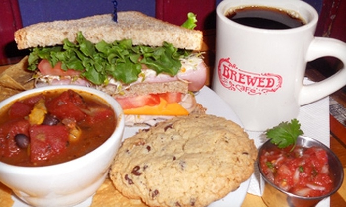 Brewed Cafe - Lower East Side: $6 for $12 Worth of Coffee, Tea, Sandwiches, and More at Brewed Cafe