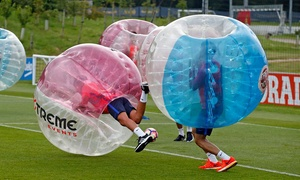 Xtreme Events: Bubble Football for Up to 15 People with Xtreme Events, Multiple Locations (Up to 28% Off)