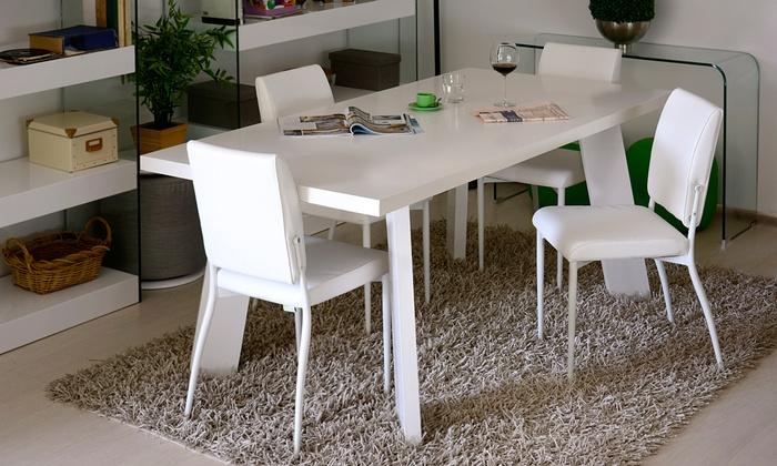 Tavolo da soggiorno elettra groupon goods for Groupon arredamento