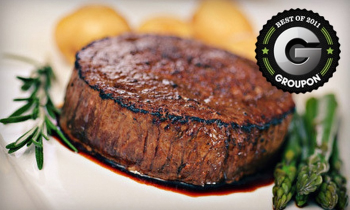 Lee Gribben's on Main - Emmaus: Steak-House Dinner with Appetizers and Dessert for Two or Four at Lee Gribben's on Main in Emmaus (Up to 59% Off)