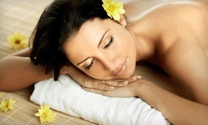 Salon Ubon - Harris: $30 for a Shellac Mani-Pedi ($60 Value) or $35 for a Full-Body Massage ($70 Value) at Salon Ubon