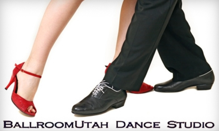 BallroomUtah Dance Studio - South Salt Lake City: $20 for One Private Lesson, One Group Lesson, and One Party Pass at BallroomUtah Dance Studio