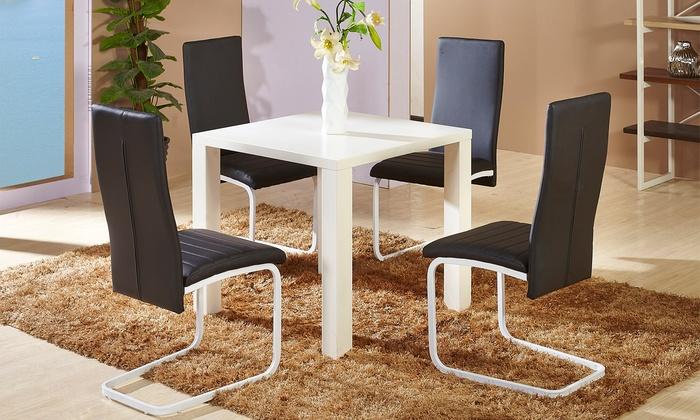 4 sedie da soggiorno Belly | Groupon Goods