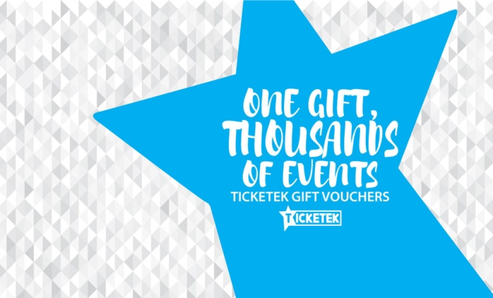 15% Off Ticketek Gift Vouchers: $50, $100, $150 or $200 Value