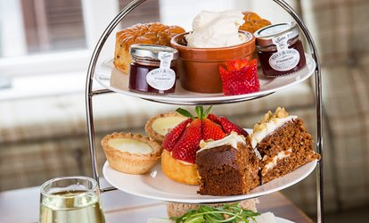 image for Cheshire Afternoon Tea with a Glass of Prosecco for Two or Four (45% Off)