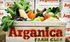 Arganica Farm Club: Out of Business - Multiple Locations: One-, Three-, or Six-Month Membership with Fresh Produce from Arganica Farm Club