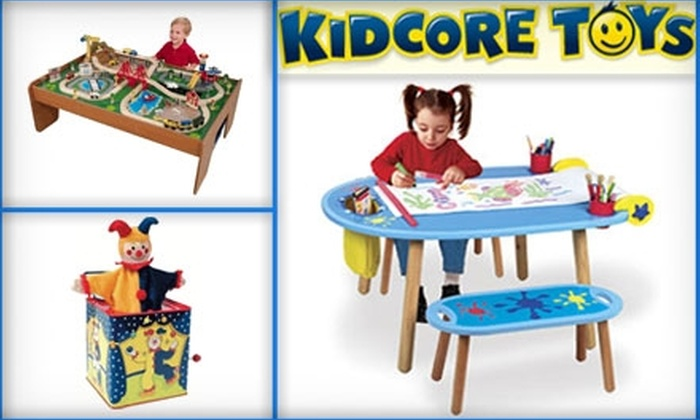 Kidcore Toys - Arlington Highlands: $15 for $30 Worth of Children's Toys at Kidcore Toys