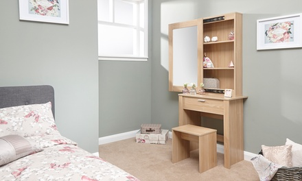 Brooklyn Collection of Dressing Table Sets in a Choice of Three Designs With Free Delivery