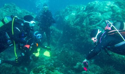Bautismo de buceo en el Cabo de Gata para 1 o 2 personas desde 26,99 € en Bahía Náutica Almería