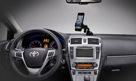 Soporte universal de smartphone para coches por 3,99 € (86% de descuento)