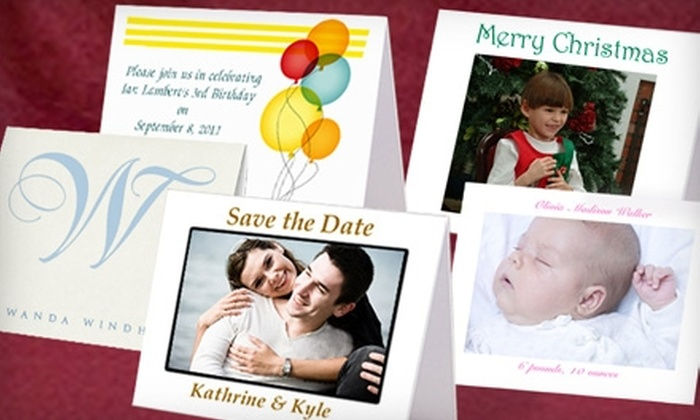 Regal Expressions: $25 for 25 Custom Cards with Matching Envelopes from Regal Expressions ($80 Value)