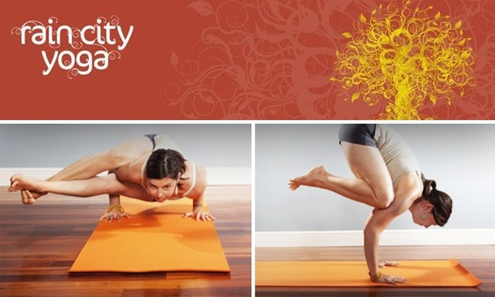 Rain City Yoga - University District: 10 Yoga Classes at Rain City Yoga (Just $3.50 a Class)