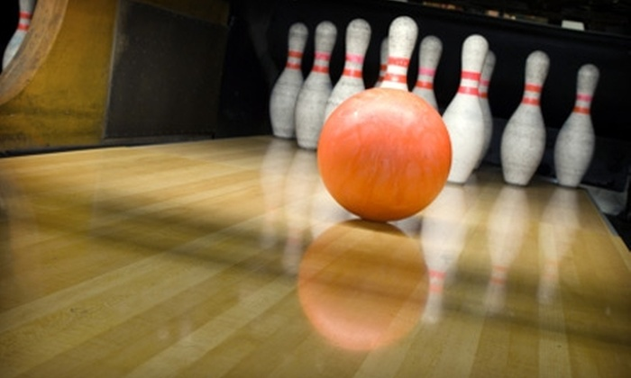 Triad Lanes & Tar Heel Lanes - Multiple Locations: $12 for Two Games of Bowling and Shoe Rentals for Up to Four People at Triad Lanes or Tar Heel Lanes (Up to $48 Value)