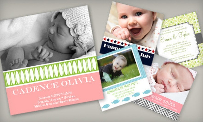 Keeping Me Posted: 20 Customized Cards or $15 for $30 Worth of Custom Invitations and Holiday Cards from Keeping Me Posted