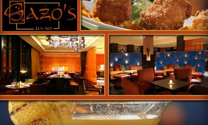 Sazo's Latin Grill - Downtown: $30 for $75 Worth of Latin Cuisine and Drinks at Sazo's Latin Grill