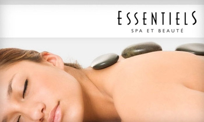 Essentiels Spa - CSU Bakersfield: $40 for Spa Services at Essentiels Spa et Beauté. Choose Between Two Options.