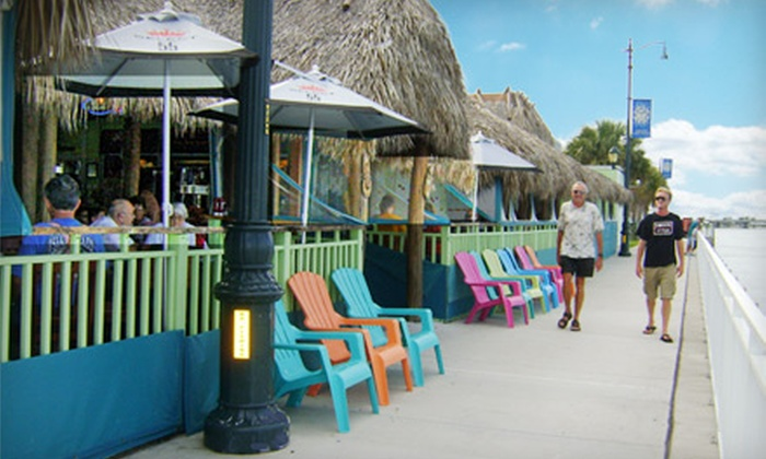 The Original Tiki Bar and Restaurant - Downtown District: $15 for $30 Worth of Tropical Fare and Drinks at The Original Tiki Bar and Restaurant in Fort Pierce