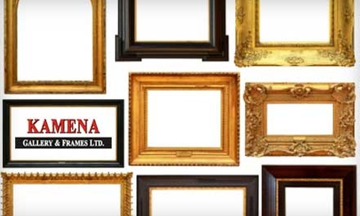 Kamena Gallery - Pleasantview: $25 for $50 Worth of Custom Framing, Artwork, and Home Accents at Kamena Gallery