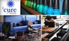 Cure Nail and Body Bar - CLOSED - Multiple Locations: $35 for Luxurious Mani-Pedi at Cure Nail and Body Bar