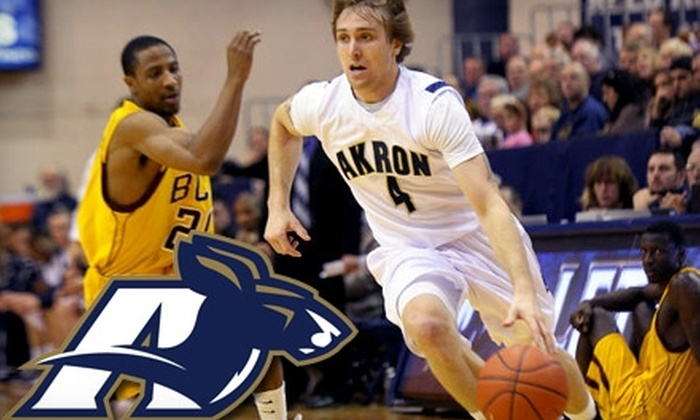 Akron Zips Men's Basketball - University of Akron: $10 for Two Tickets to Akron Zips Men's Basketball Game Against Central Michigan or Western Michigan