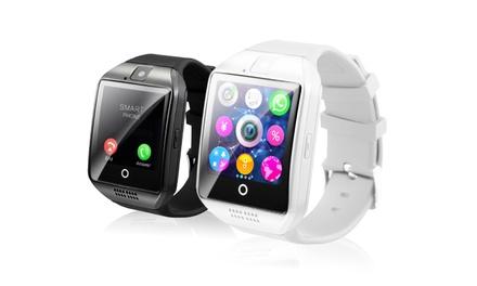 Q18 Smartwatch mit High-Capture-Display in Schwarz oder Weiß inkl. Versand  (19,90 €)