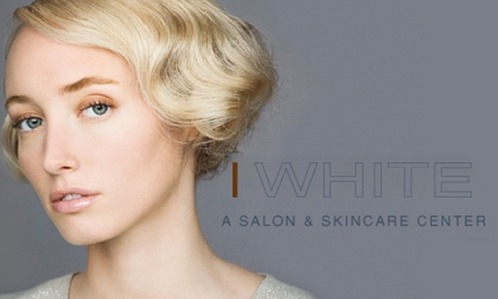 White Salon & Skincare Center  - Neartown/ Montrose: $99 for a Full Highlight or Lowlight, Cut and Style, and Kerastase Conditioning Treatment at White Salon & Skincare Center (Up to $225 Value)