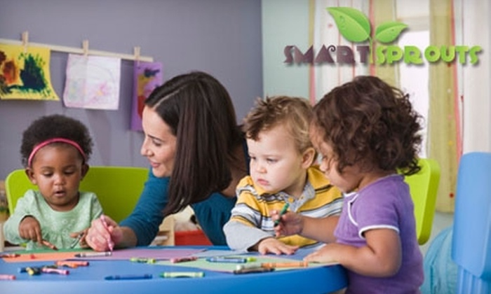 Smart Sprouts - Green Hills: $29 for Four Hours of Drop-In Play Care at Smart Sprouts ($60 Value)