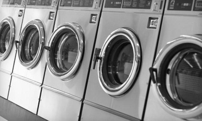 Splashers Laundry and Tanning - Moores Switch: 50 Pounds of Drop-Off Laundry or $25 for $50 Worth of Self-Service Laundry at Splashers Laundry and Tanning