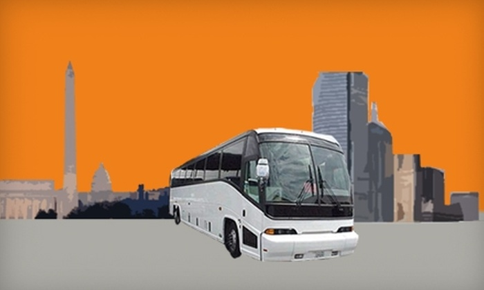Theknowitexpress - Park Slope: $22 for a Round-Trip Bus Ticket from Brooklyn to Washington DC from Theknowitexpress Bus Service ($45 Value)