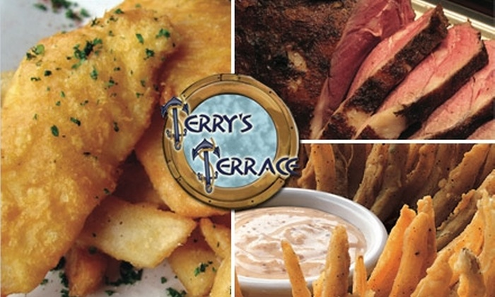 Terry's Terrace - Harrison Township: $10 for $20 Worth of Seafood, Beer, and More at Terry's Terrace