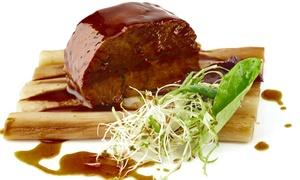 Restaurant Au Cheval Blanc: Menu gastronomique en 3, 4 ou 5 service, pour 2 dès 69 € au restaurant Au Cheval Blanc